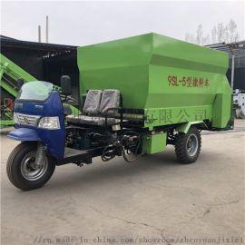 柴油撒料车 轻松方便喂料机 全自动撒料车