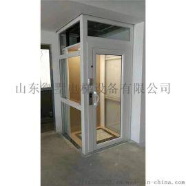 跃复式楼家用电梯 液压无底坑别墅电梯 小型家用电梯
