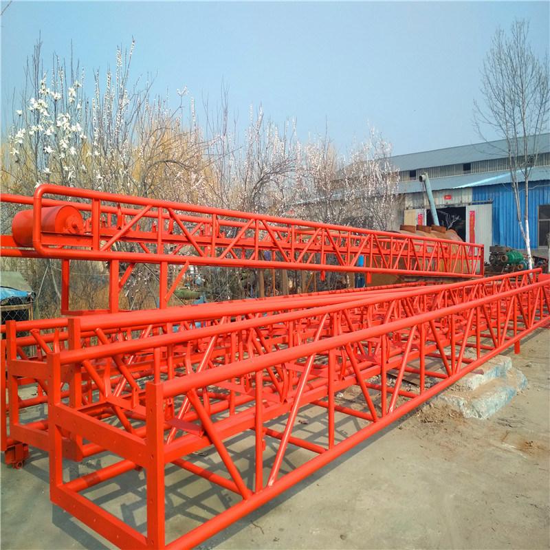 六九重工布匹装车用圆管带护栏皮带输送机Lj8