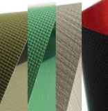 1.5米宽500D黑色压纹箱包用PVC夹网布,涂贴布,篷盖布