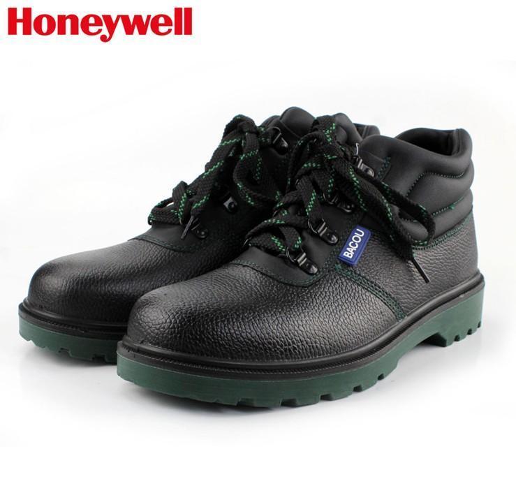 霍尼韋爾防砸防刺勞保鞋 中幫保暖安全鞋