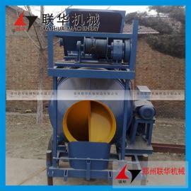 300自升式液压混凝土搅拌机 轨道全自动爬梯搅拌机 升降水泥搅拌