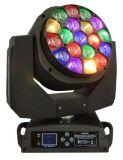 最新款19颗15W调焦LED大蜂眼摇头灯(有视频)