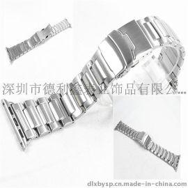 德利鑫 DLXZZ 2016苹果表带 适用于apple watch 可配金属连接器iwatch 深圳龙华新区不锈钢表带厂家
