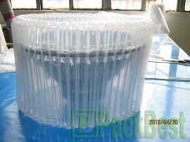 瓶气柱缓冲袋、   快递缓冲气柱保护包装袋