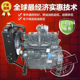 ZH4100ZD潍坊柴油发动机 潍柴水冷四缸柴油发电机组 裕兴厂家直销