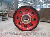Φ1220宽度700回转窑托轮回转窑铸钢托轮发往新疆