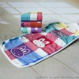 隆利工厂直销卡通儿童纱布毛巾 婴幼儿卡通擦嘴巾口水巾特价