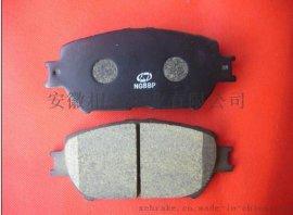 无钢棉,铜粉的环保汽车刹车片D908