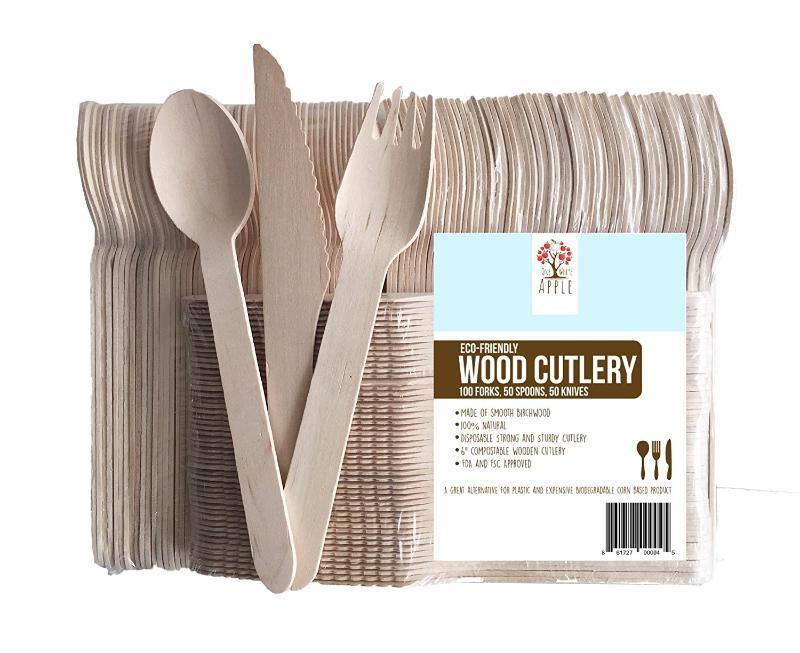 出口一次性木質刀叉勺