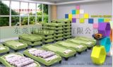 幼儿塑料床/儿童床/可叠放儿童床