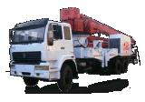 32米双动力混凝土输送泵车