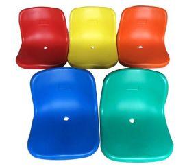 厂家直销看台椅 中空吹塑体育馆椅 学校看台玻璃钢椅 塑料面座椅