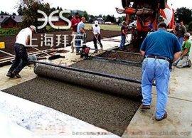 北京园林露骨料透水地坪/胶粘石透水地坪