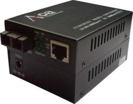 百万高清网络摄像机专用光纤收发器 (AOM-1100)