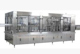 四合一果汁灌装机 热灌装饮料设备 茶饮料生产线