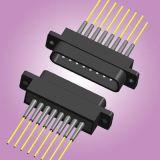 矩形密排光纤连接器