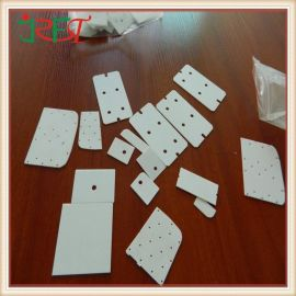佳日丰泰氧化铝陶瓷片生产厂家,耐磨导热耐磨导热陶瓷垫片,高强度绝缘导热特种陶瓷片价格