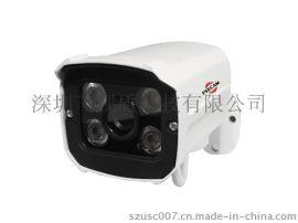 家庭用监控摄像头 小型四灯红外防水摄像机 CMOS800线