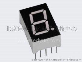 0.5英寸一位led數碼管共陰共陽紅光北京天津河北山西陝西廠家
