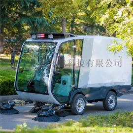 小林牌电动扫路车XLS-2100,环卫道路清扫设备