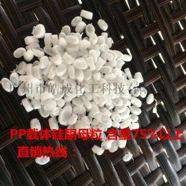 硅酮母粒加工助剂PP载体生产高温润滑 抗刮花