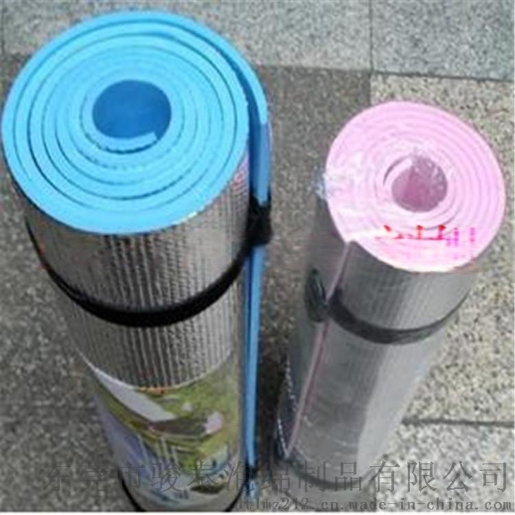源头厂家直批复铝膜防潮瑜伽垫 印刷logo
