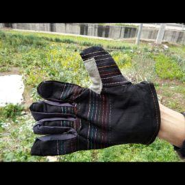 砖厂专用耐磨牛仔布手套
