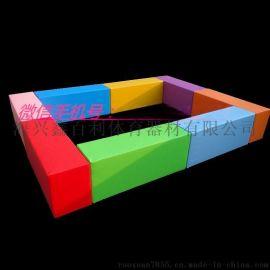 軟體長條凳幼兒園組合長凳長方形座椅兒童沙發休閒凳
