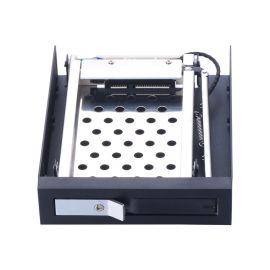 Unestech2.5寸单盘位SATA硬盘托架 内置硬盘盒 支持热插拔 带锁