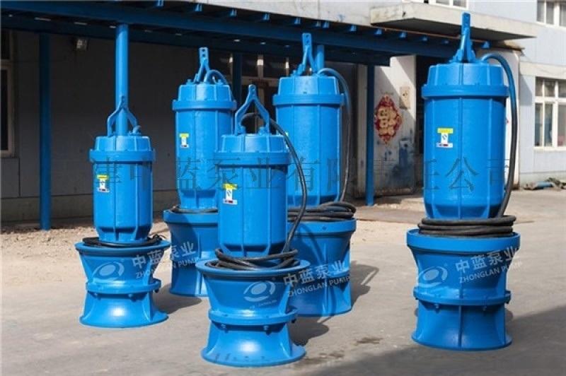 潜水轴流泵流量大效率高