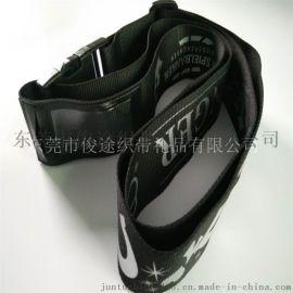 厂家直销来样定做带安全扣的尼龙行李箱捆绑带