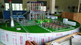 垃圾发电厂沙盘/火力发电厂沙盘模型设计