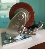4寸高科技聚氨酯腳輪 重型萬向輪 直銷