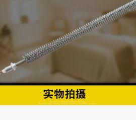 直型不锈钢干烧散热片加热管烘干机催化炉翅片式电热管