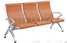 PU排椅、休闲机场排椅、公共等候排椅、铁电镀公共排椅、金属排椅