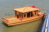 小畫舫木船 景區旅遊船生產的電動觀光船