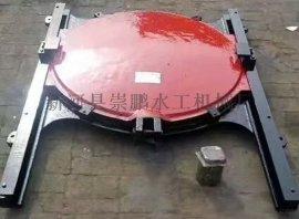 水库1米乘1米铸铁闸门pm钢制闸门崇鹏现货供应机闸一体式闸门