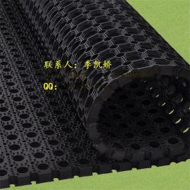 甲板橡胶垫|厨房酒店门垫|多孔绿化带疏水防滑垫