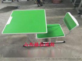 厂家直销山西中小学课桌椅 辅导班课桌凳 高度可调节