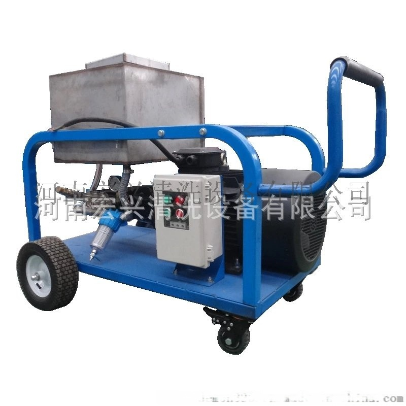 高壓清洗機 水噴砂除氧化皮  高壓水射流清洗機