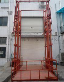 恒久生产导轨式升降机 厂房货梯
