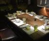 復古做舊胡桃裏音樂餐廳酒吧家具實木加鐵藝桌子尺寸可定制