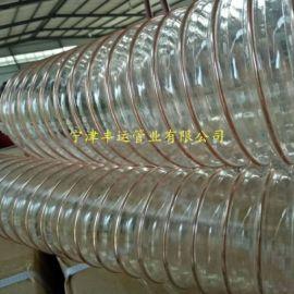 PU钢丝风管规格新风系统PU风管弹性环保通风管