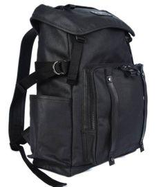 工厂专业定制双肩休闲帆布包 真皮双肩背包 可添加logo