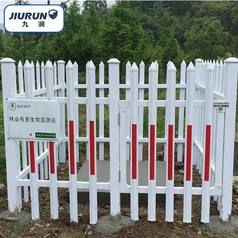 PVC電力圍欄 廠區配置變壓器圍欄 安全防滑隔離欄