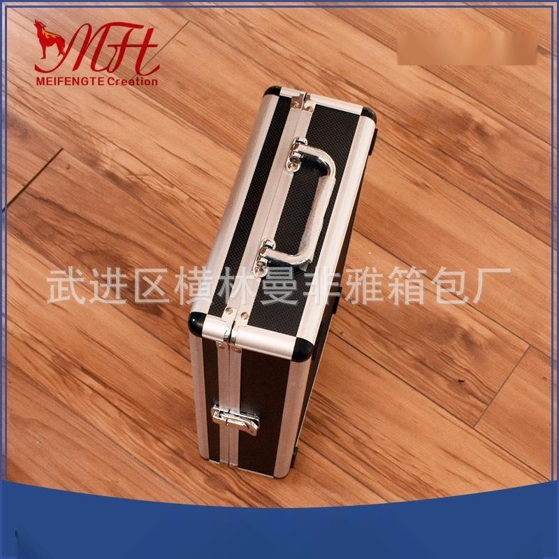 廠家特價批發鋁合金收納工具箱現貨 支持定做手提五金儀器工具箱