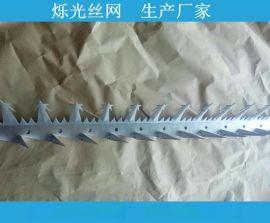 热镀锌板刺钉 中号刺钉 2mm刺钉长度1.25m