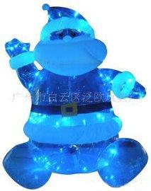 绿膜充气PVC圣诞老人 (THS070120-BLUE)