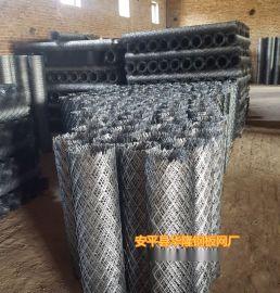 安平钢板网厂家,重工油田矿井工作平台脚踏钢板网